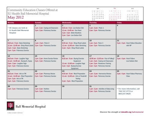 Download Printable May Calendar For Community Classes - Iu intended for Depo Calendar Printable Graphics