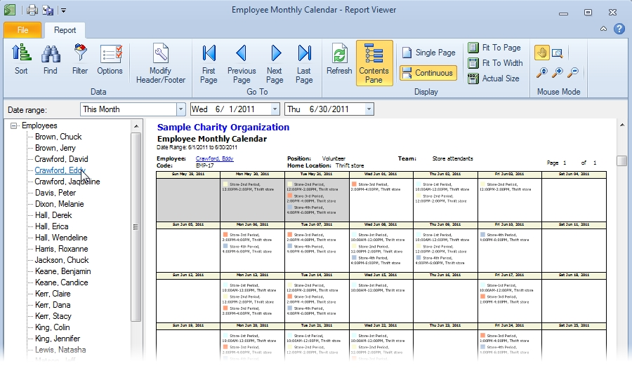 Employee Scheduling Software | Snap Schedule Product Tour for Free Monthly Shift Scheduling Calendars