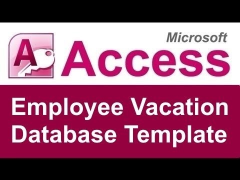 Employee Vacation Tracking Database Template pertaining to Free Holiday Scheduler Access Database Graphics