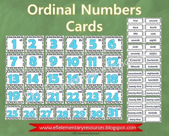 Esl Calendar: Days And Months Ordinals Numbers. | Ordinal pertaining to Ordinal Date Calendar Graphics