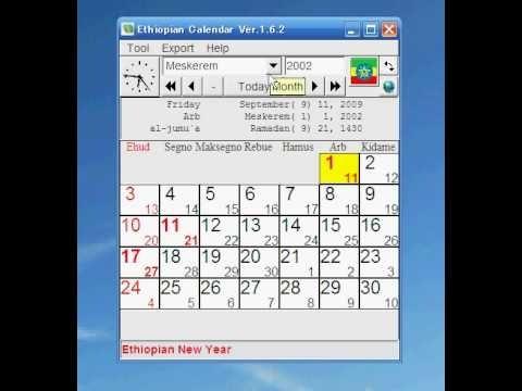 Ethiopia Calendar - Youtube pertaining to Ethiopia Orthodox Calendar Graphics