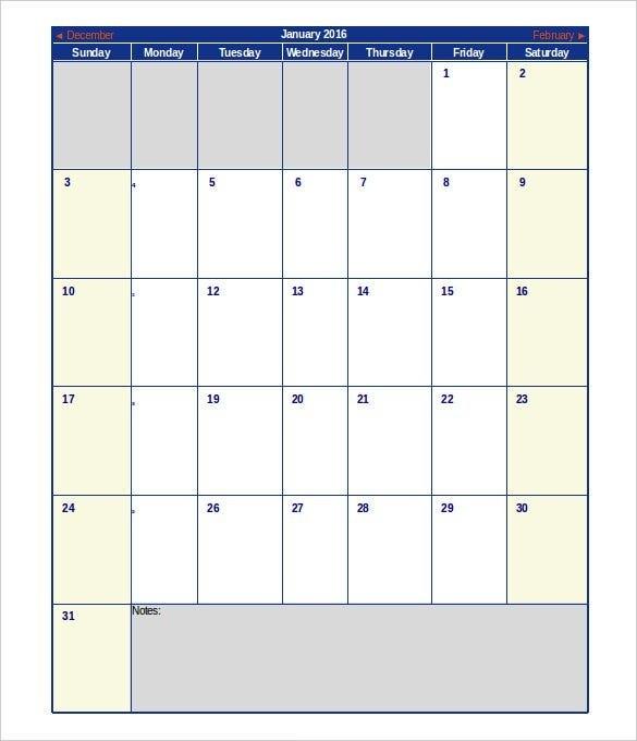 Excel Calendar Schedule Template – 15+ Free Word, Excel, Pdf in Free Color Coded Calendar Template