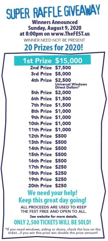 Fest Raffle – The Fest pertaining to Calendar Raffle Ticket Kit Graphics
