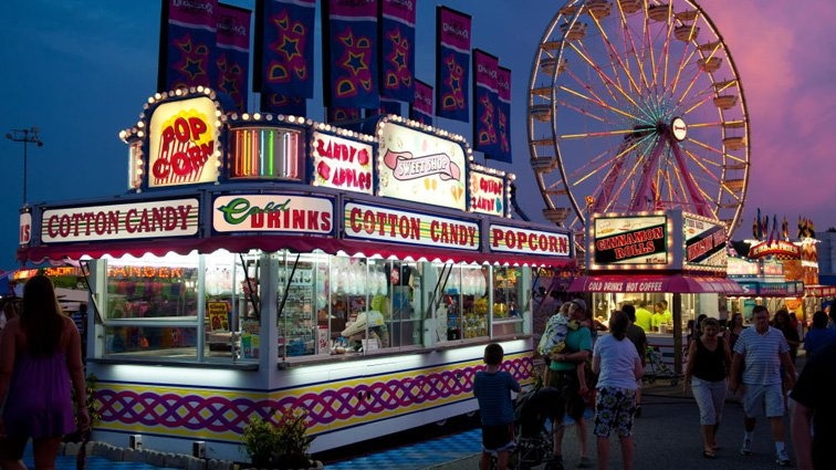 For Only Second Time In History, Maryland State Fair in Timmonium State Fair Grounds Schedule