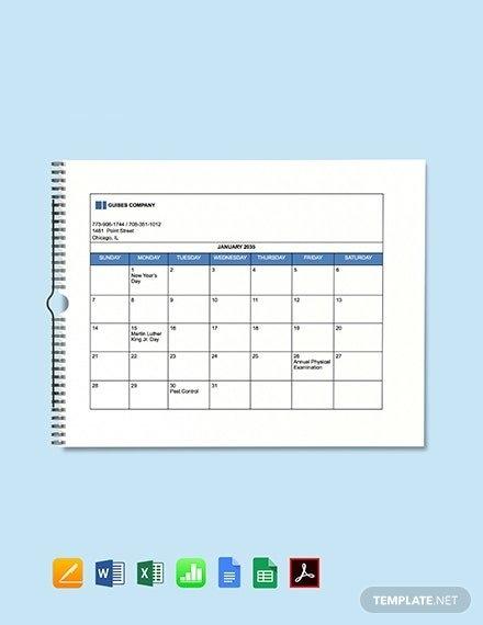 Free Hr Calendar Templates - Microsoft Excel (Xls with Human Resource Calendar Template Photo