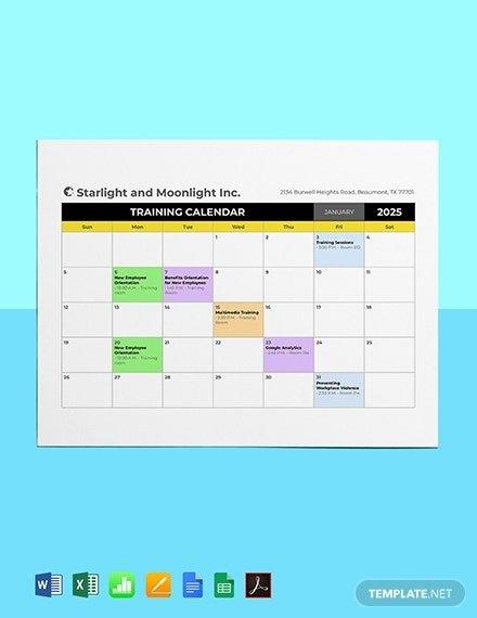 Free Hr Calendar Templates - Microsoft Excel (Xls within Human Resource Calendar Template Photo
