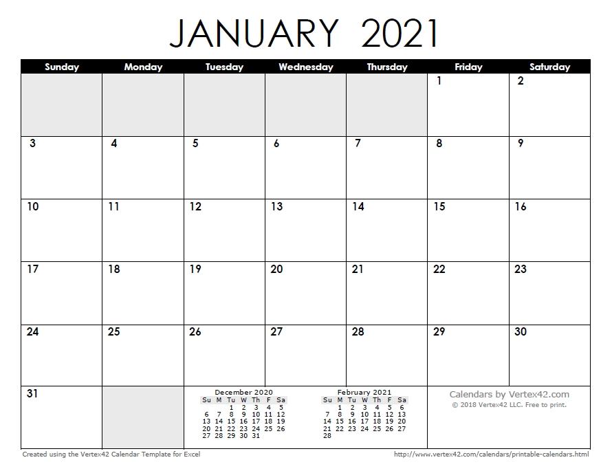Free Printable Calendar - Printable Monthly Calendars for 12 Month Printable Calendar Template