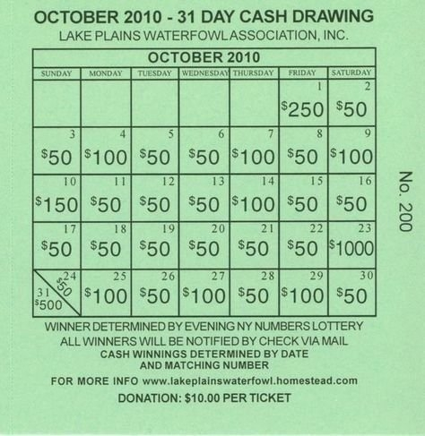 Fundraising Lottery Calendars Graphics | Fundraising pertaining to Free Lottery Calendar Fundraiser Template Graphics