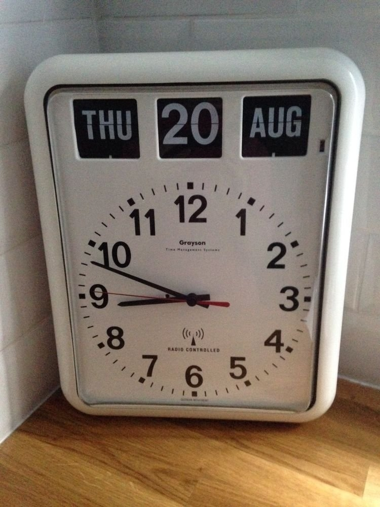 Grayson Digital Wall & Calendar Dementia & Alzheimer'S Clock within Alzheimer'S Calendar Clock Graphics