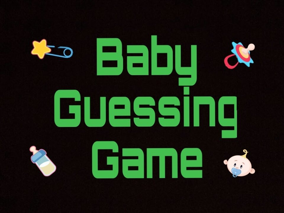 Guess My Baby'S Birth Date And Weight for Baby Guess The Date Graphics