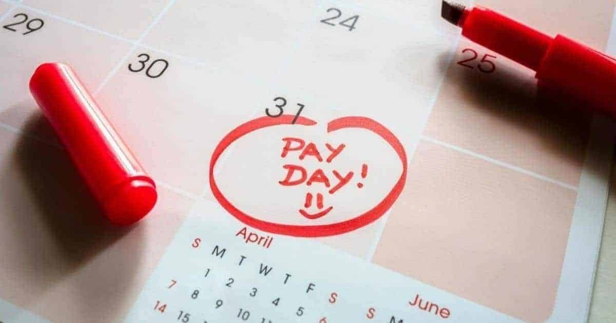 Here Are The 3 Paycheck Months For 2021 | Michael Saves intended for Us 2Weekly Pay Day Calander Image