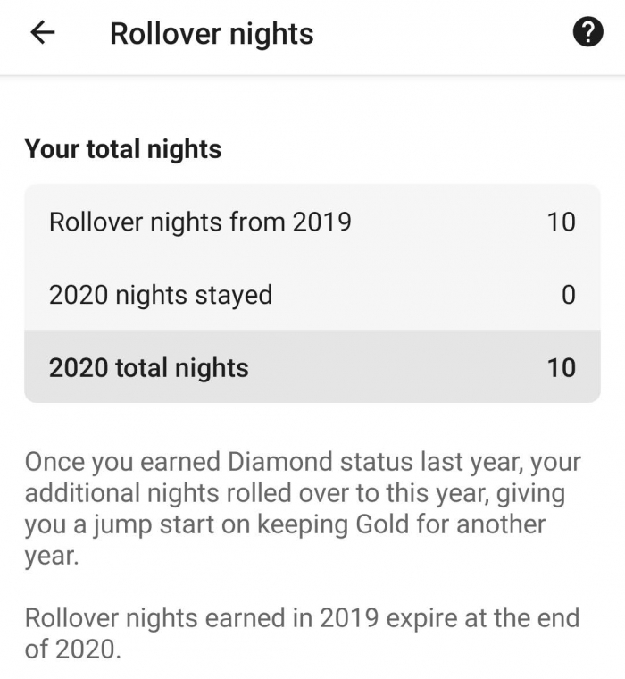 Hilton Honors 2020 Status Now Updated On The App (Are Your in No Frills Honor Calendar