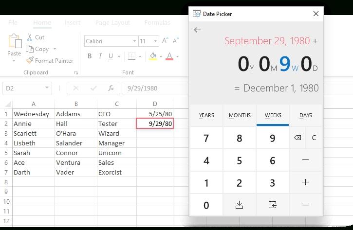 How To Insert Calendar In Excel (Date Picker & Printable intended for Date Range Printable Calendar