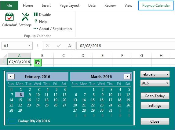 How To Insert Calendar In Excel (Date Picker & Printable throughout Create  Dropdown Calendar In Excel