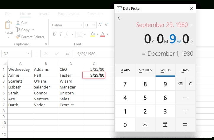 How To Insert Calendar In Excel (Date Picker & Printable within Print Calender Date Range