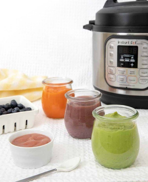 How To Make Baby Food In Your Instant Pot / Pressure Cooker inside Gess The Baby Birthdate Pot