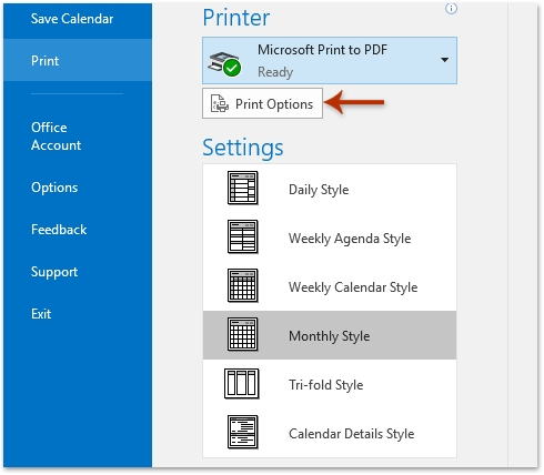 How To Print A Calendar In A Specified/Custom Date Range In intended for Print Calender Date Range
