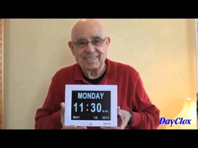 How To Use The Digital Calendar Day Clock - Youtube with Alzheimer'S Calendar Clock