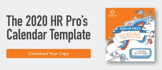 Hr Calendar Template] For Employee Engagement Throughout The within Hr Calendar Sample Photo