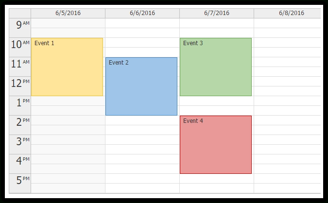 Html5 Event Calendar/Scheduler - Codeproject with regard to Navigators.org Calendars Photo