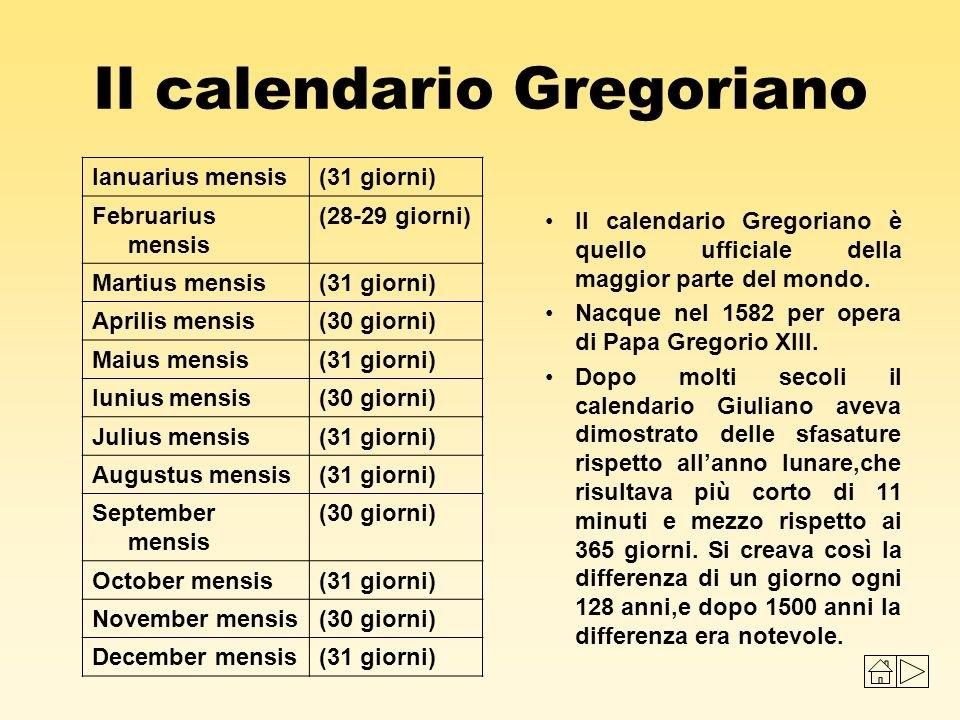 Il Calendario Gregoriano Compie 434 Anni, Storia E Curiosità in Calendario Giouliaon Image