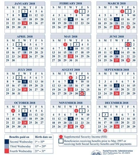Images | Social Security Disability Benefits, Payment inside Social Security Disability Paid Calendar Image