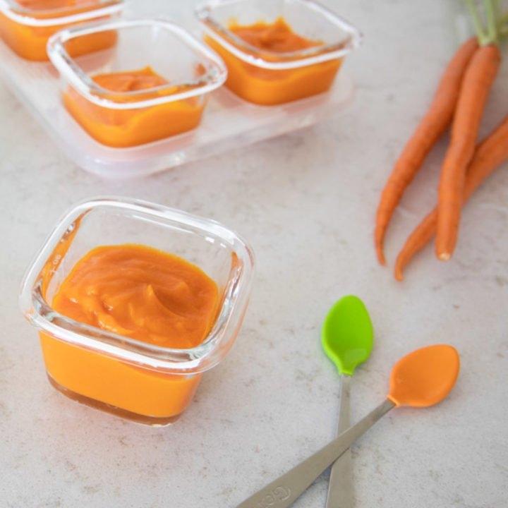 Instant Pot Baby Food Carrot Puree regarding Gess The Baby Birthdate Pot Image