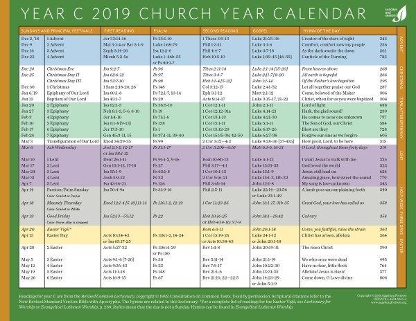 Liturgical Year Chart - The Future throughout Methodist Church Liturgical Calendar