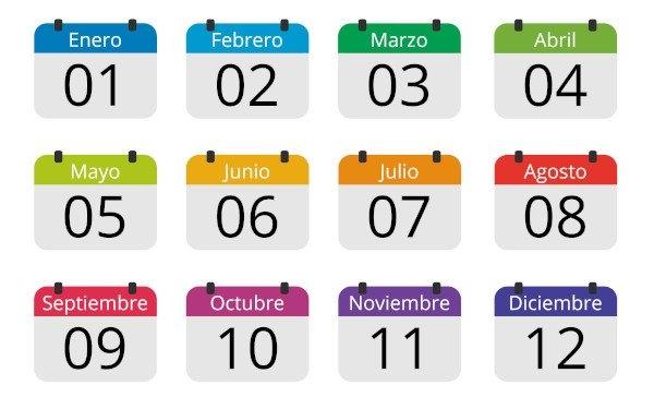 Los Meses Del Año – Os Meses Do Ano Em Espanhol - Brasil Escola inside Numero De Dias Juliano 2020 Pdf Graphics
