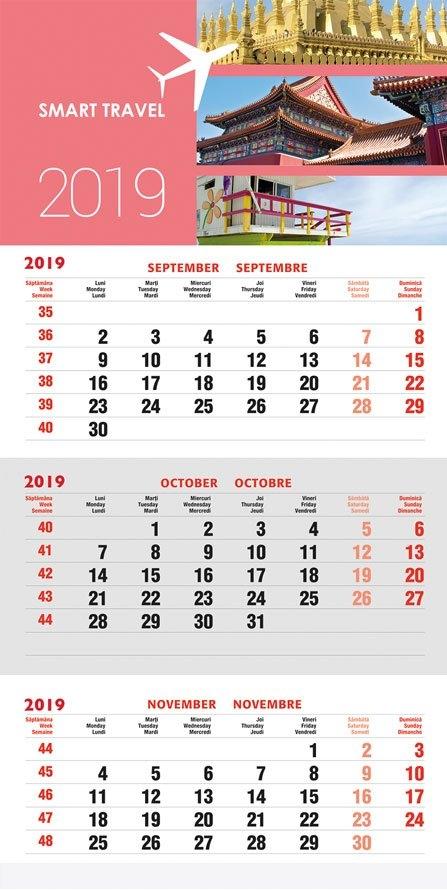 Margy Consultants | 3-Month Wall Calendar regarding 3 Month Calendar