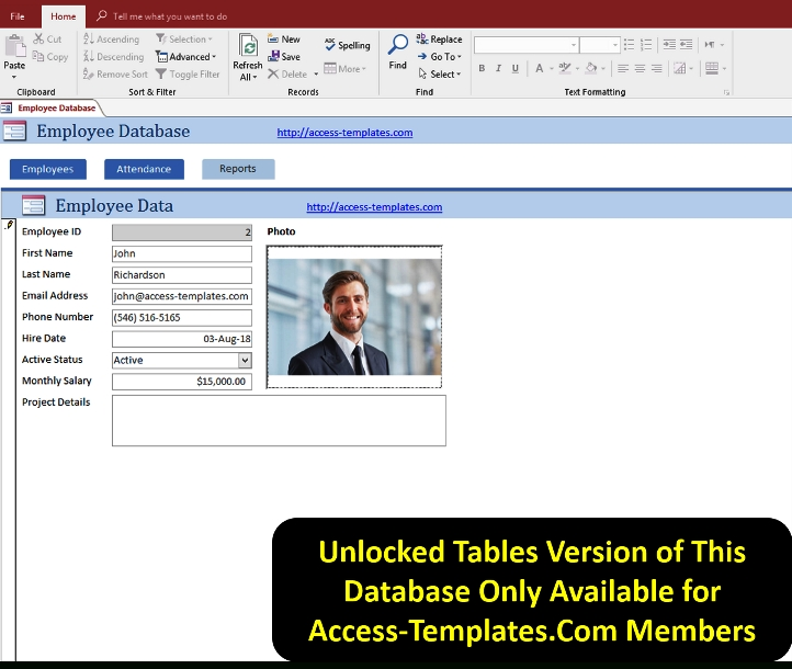 Microsoft Access Templates Employee Scheduling Database For with regard to Scheduling Ms Access Databaase Image