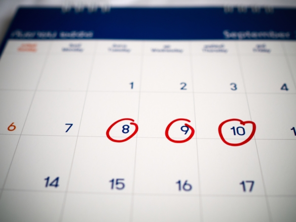 Microsoft Excel Date Calculations Without Weekends & Holidays within Calendar Without Weekend Photo