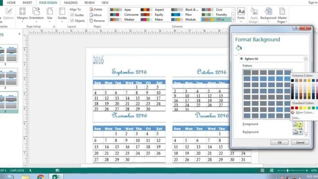 Microsoft Publisher Calendar Templates ~ Addictionary for Microsoft Understated Calendar Template