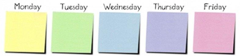Monday-Through-Friday-Calendar-Template-Great-Printable with regard to Printable Monday Thru Sunday Calendar Image