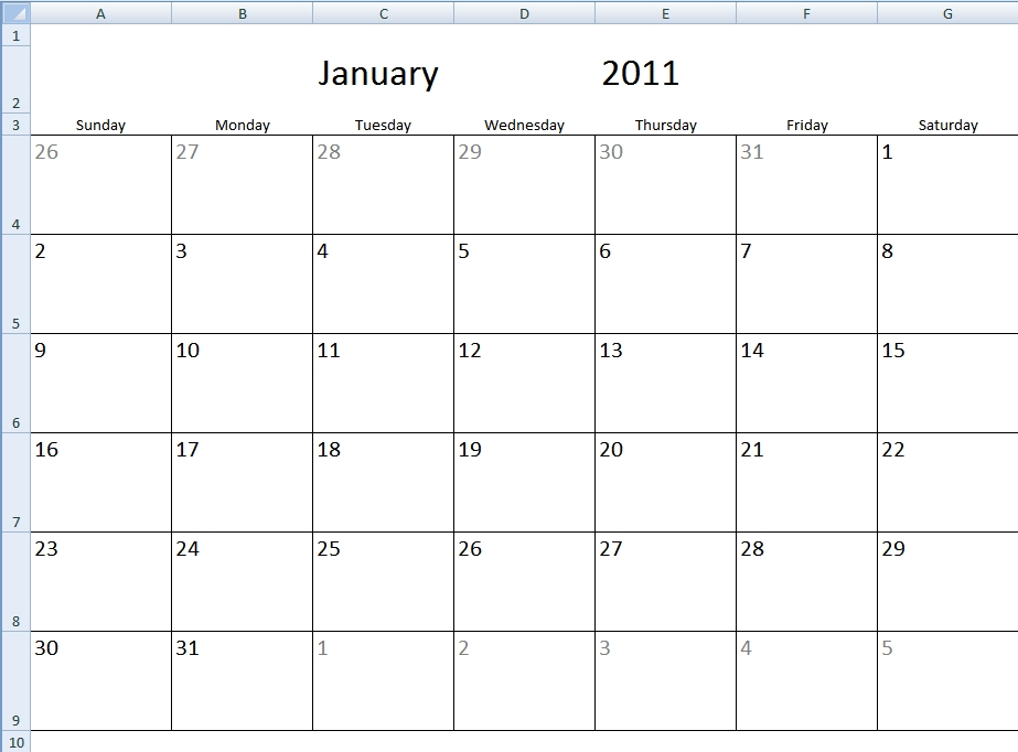 Monthly Calendar Template with Shifts Schedule Monthly Calendar Template Graphics