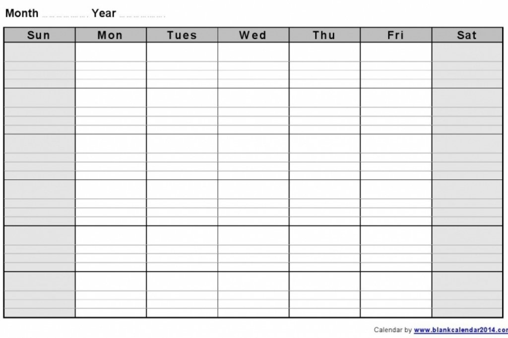 Monthly Calendar With Lines – Calendar Printable Week intended for Printable Monthly Planner With Lines