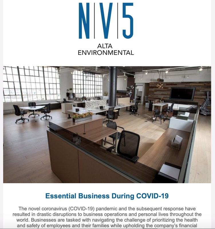 Newsletters - Alta Environmental in Alta Disclosure Calendar