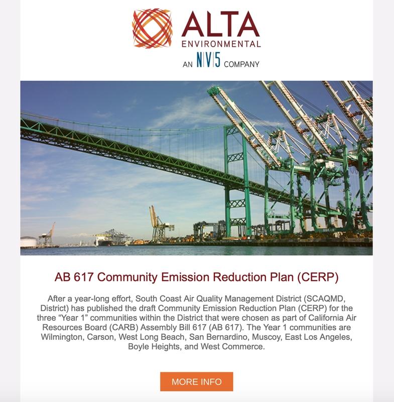 Newsletters - Alta Environmental throughout Alta Disclosure Calendar Photo