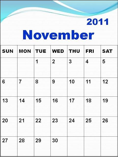 Njyloolus: Blank Calendars 2011 To Print inside 11 X 17 Lank Calendar