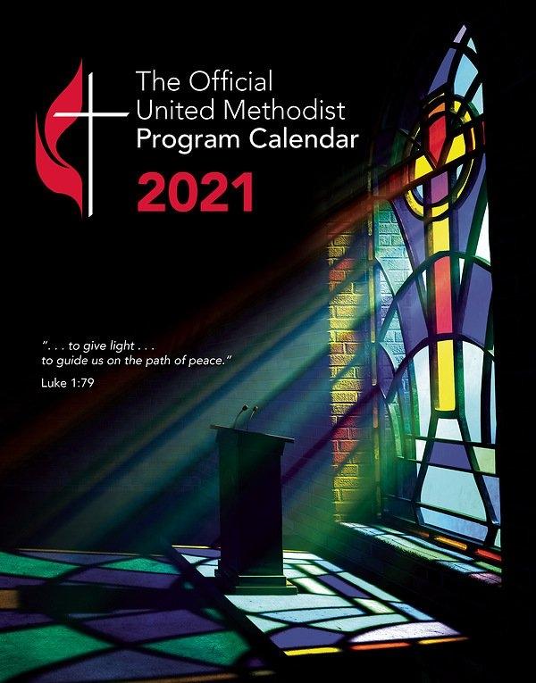 Official United Methodist Program Calendar 2021 Standard Edition with regard to United Methodist Parament Calendar Graphics