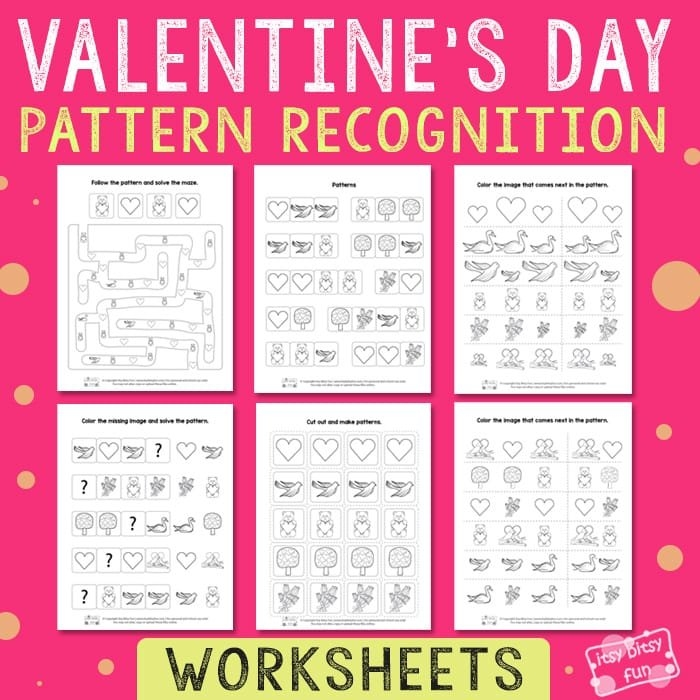 Pattern Recognition Archives - Itsybitsyfun inside Itbsy Bitsy Fun Calendars