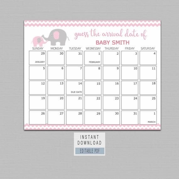 Pin On Babyparty Nini within Guess The Date Babyparty
