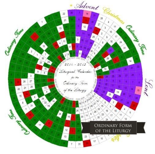 Printable Liturgical Calendars | Catholic Liturgical within Printable Catholic Liturgal