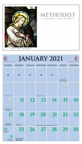 Printed Church & Liturgical Calendars - Ashby Publishing with regard to List Of Alter Colors For Methodisst Church Graphics