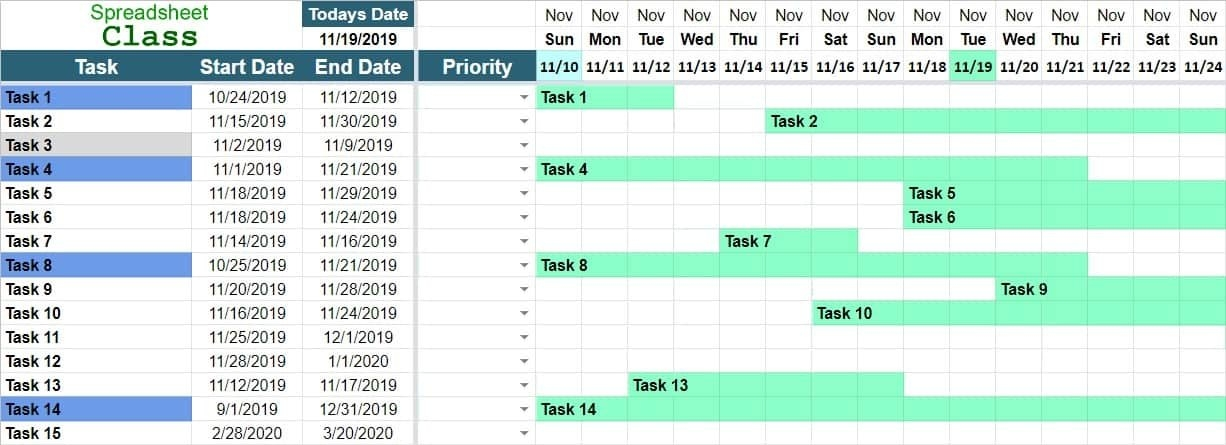 Project Management Timeline Templates For Google Sheets inside 90 Day Project Calendar Printable