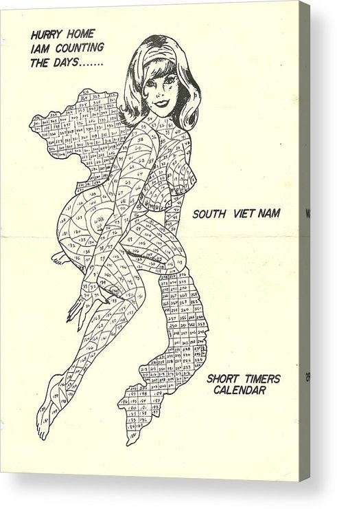 Short Timers Calendar Acrylic Print for Short Timers Calendar Image Graphics