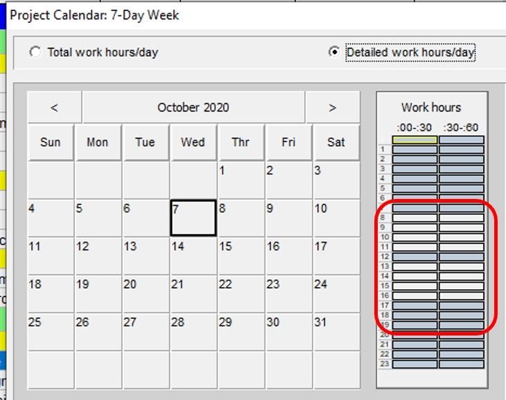 Show Calendar Days Instead Of Dates In Primavera P6 Schedule pertaining to Ordinal Date Calendar