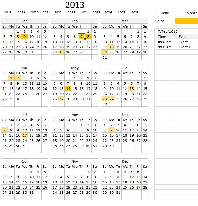 Sin Embargo, Otro Calendario De Excel in Calendar 2020 Excel Con Numero De Semana Image