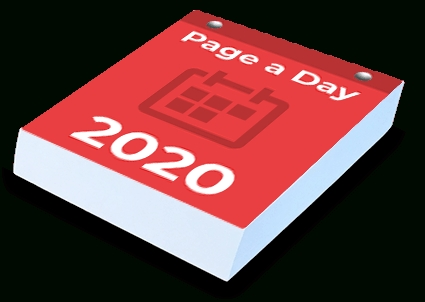 Tear Off Calendar Printing | We Print Your Custom Page A Day with regard to Tear Off Countdown Calendar