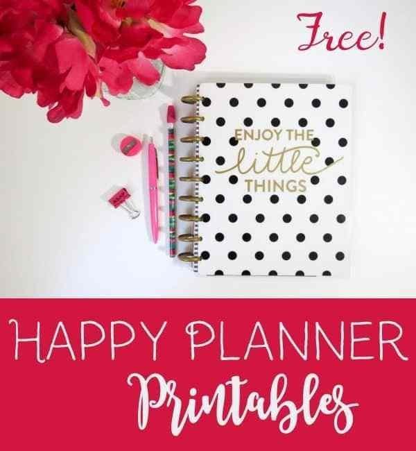 The Happy Planner with regard to Happy With Printables Calendar